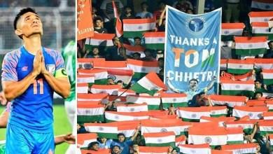 Sunil Chhetri Surpasses Lionel Messi's Tally Of International Goals