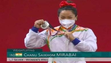 Tokyo Olympics 2020: NFR Weightlifter Mirabai Chanu wins silver medal