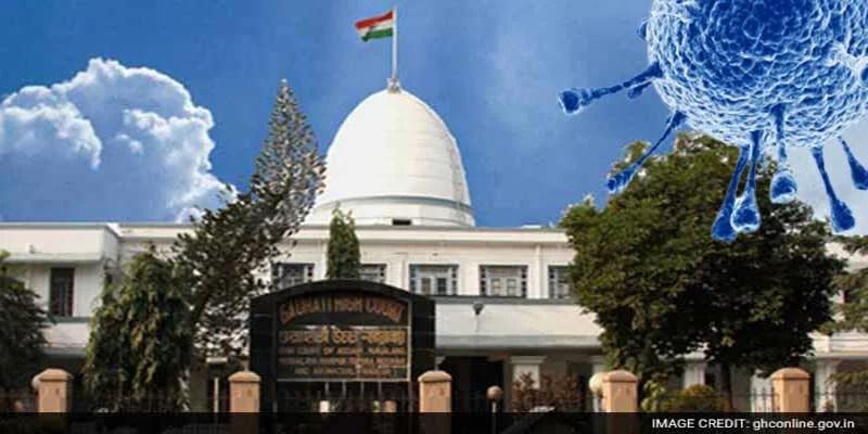 Gauhati HC takes Suo Motu cognizance of Covid situation in, Nagaland, Mizoram and Arunachal Pradesh