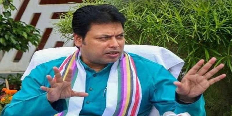 "Tripura: CM Biplab Deb Escapes ""Attempted Murder"", 3 Arrested"