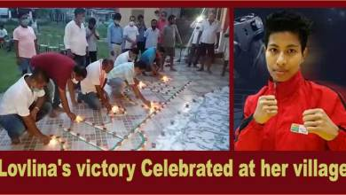Assam: Lovlina's victory celebrated at his native village