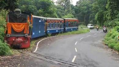 Darjeeling's toy trains back on track after more than one year