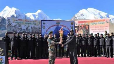 Sikkim: Tri Services Mountaineering Expedition launched in North Sikkim to commemorate Swarnim Vijay Varsh
