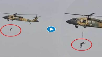 Man hanging from flying chopper: Read the truth of Afghan viral video
