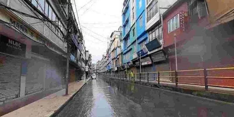Mizoram: Partial lockdown in Aizawl extended till Sep18