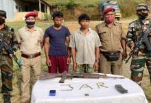 Mizoram: Security forces apprehends two Myanmar Nationals with Arms and Ammunition