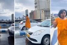 Viral Video: Sandy Saha, Social Media Influencer dances on Maa Flyover In Kolkata, Police fined him