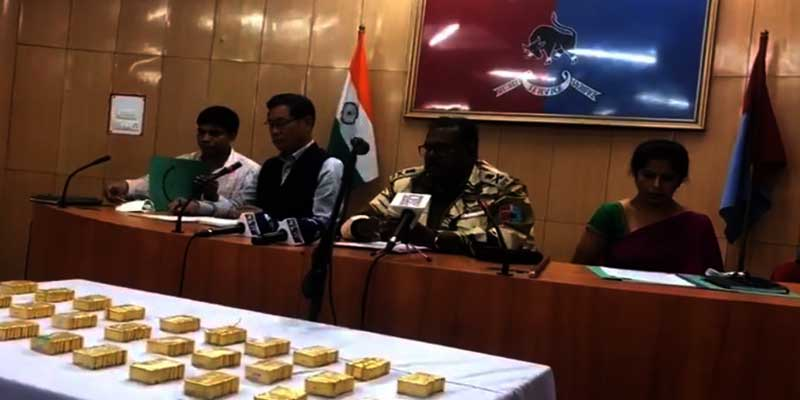 Nagaland police seizes smuggled Gold of worth 22 Crore, Heroin worth of 2 Crore