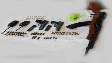 Manipur: Security Forces recover Arms and Ammunitions in Imphal East