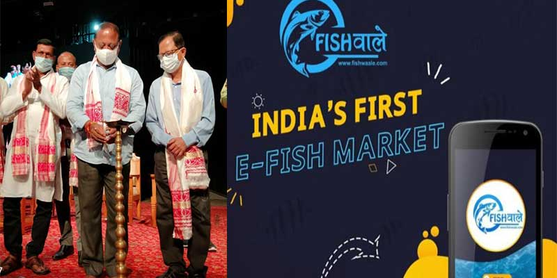India's first e fish market App Fishwaale launched in Assam