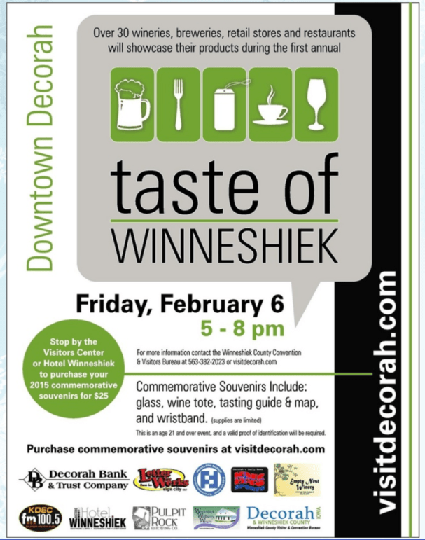 Taste of Winneshiek Logo