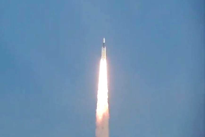 ISRO successfully launches GSAT-29 communication satellite into orbit