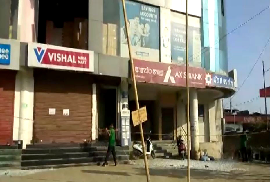 Blast rocks shopping mall in Manipur