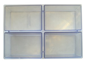 Tray divider - 4 section