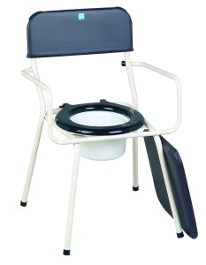 Stackable Commode Chair
