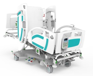 Activ8 Vision ICU Bed with Lateral Tilt & Weigh Scales