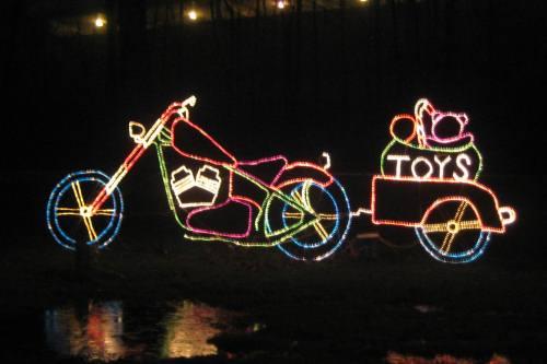 DriveThru Christmas Lights at Stadium Park in Canton