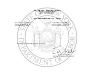 Mold License 2021-6.30.2023