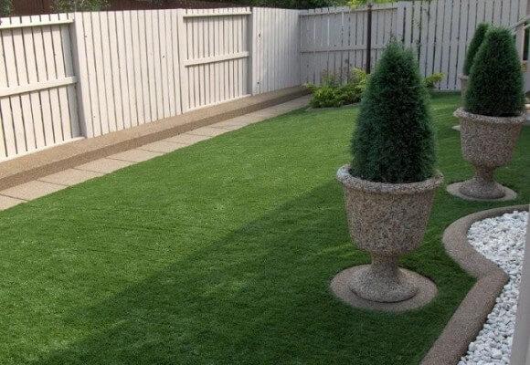 waterless grass & artificial lawn