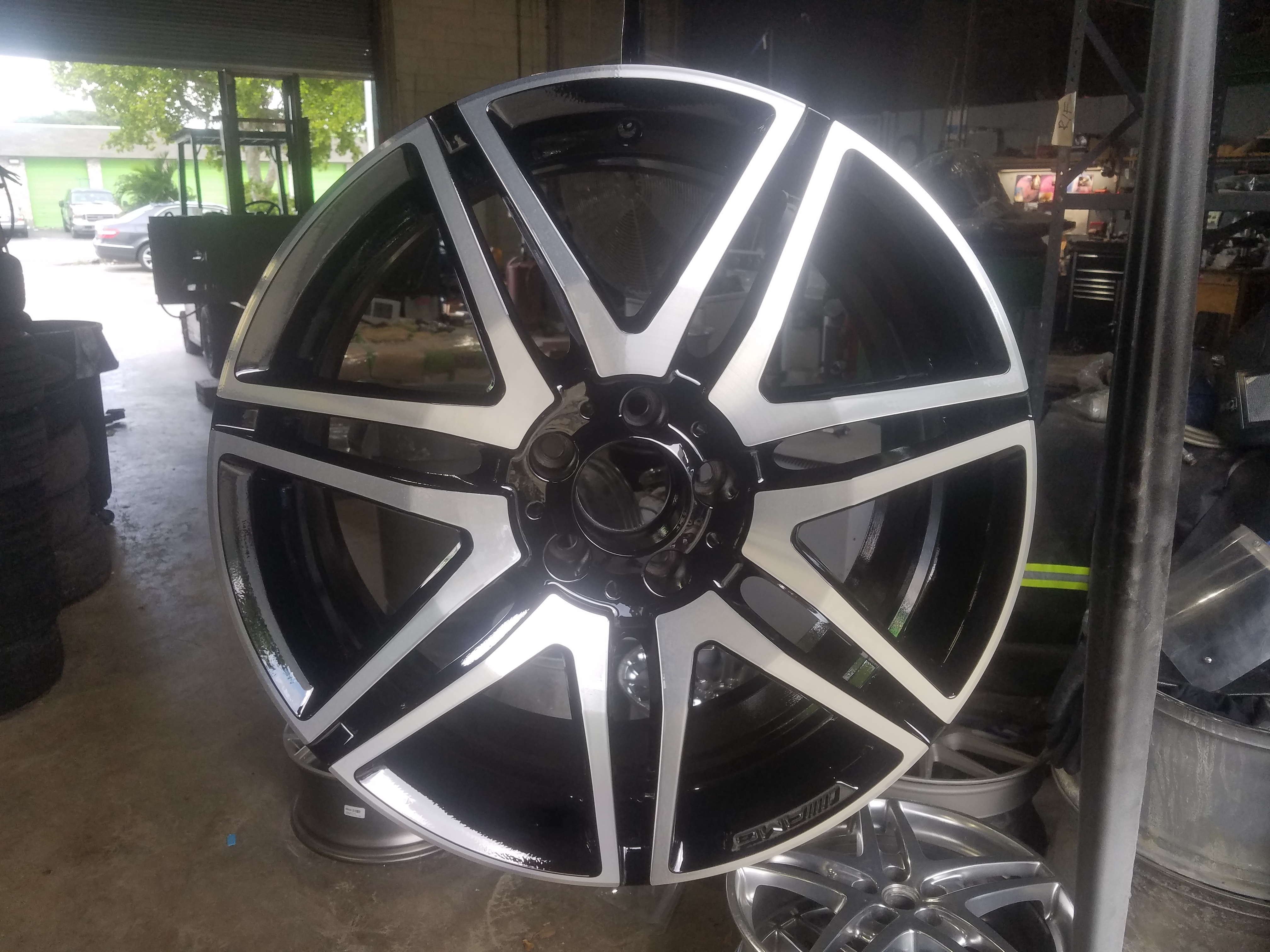 CNC Machine Cut, Lathe Cut Wheels