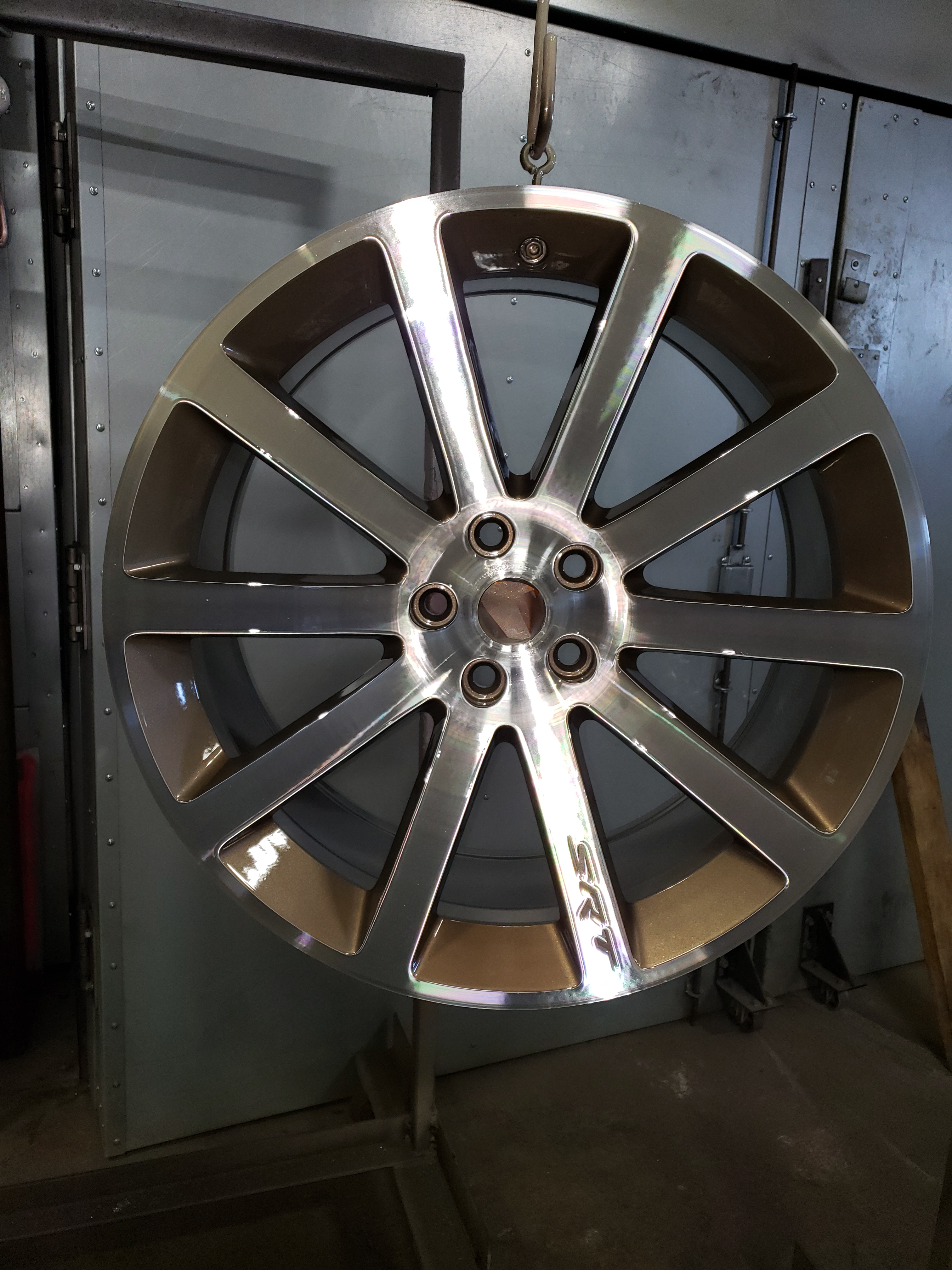 Refinished Wheels Silver