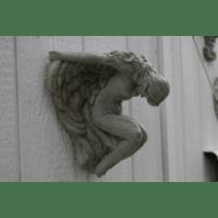 Concrete Wall Sconce Art Nouveau