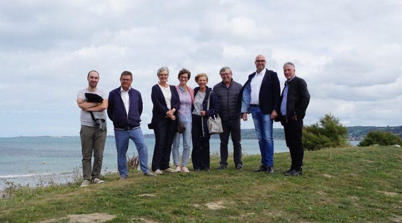 Zum ersten Mal: Bürgermeister Hartmann besuchte Stadtpartner in Tourlaville