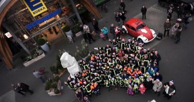 Mit Gesang: Northeimer Feuerwehr gewinnt Weihnachts Wette