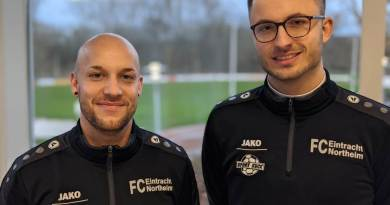 Neue Trainer für die Eintracht: Sie sollen den Abstieg verhindern