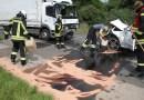 Nach Frontal-Crash war Bundesstraße 3 bei Sudheim stundenlang gesperrt