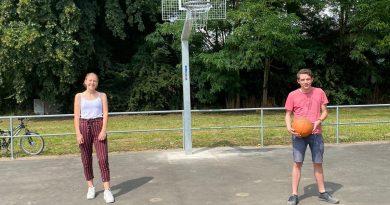 Basketball-Anlage parkt am Mühlenanger