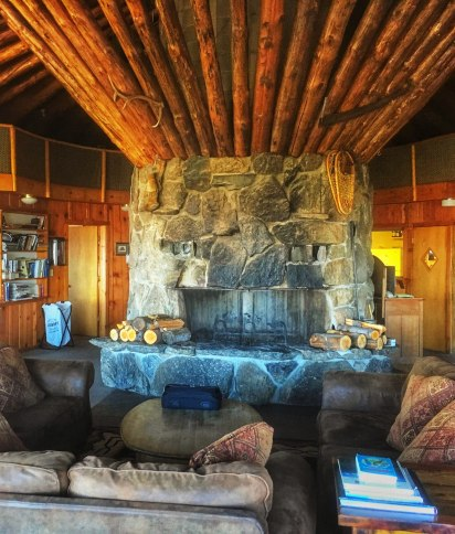 Downing Mountain Fire Place
