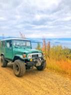 Toyota Landcruiser Flathead Lake View