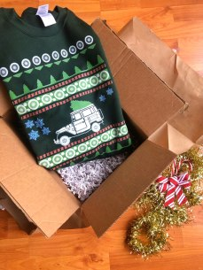 Ugly Landcruiser Sweater Unwrappped