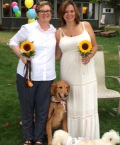 Gay weddings with Amanda and Lindsey