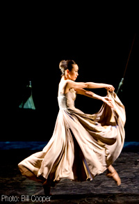Keiko Amemori in Angels in the Architecture (Photo: Bill Cooper)