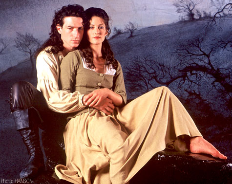 Jonathan Ollivier and Charlottle Talbot in Wuthering Heights (Photo: HANSON)