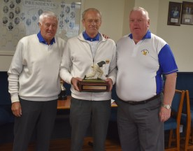 Winners Of The Day L to R WillieRae, Allan Mitchell(S) Willie Robb.