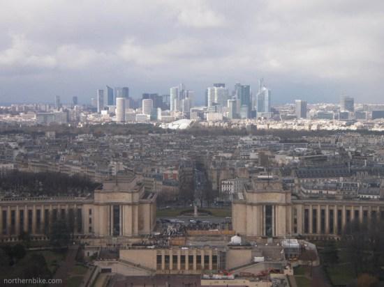 paris - tour Eiffel - trocadéro & la défense
