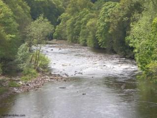 River Swale from Richmond Bridge, Yorkshire