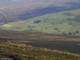 Wharfedale from Birks Fell