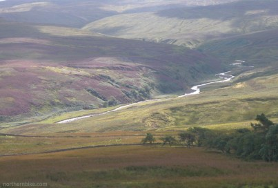 view from Alston to Hartside road