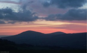 Sunrise from Latrigg above Keswick