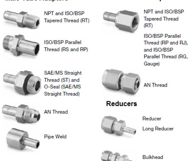 Swagelok Tube Adapters