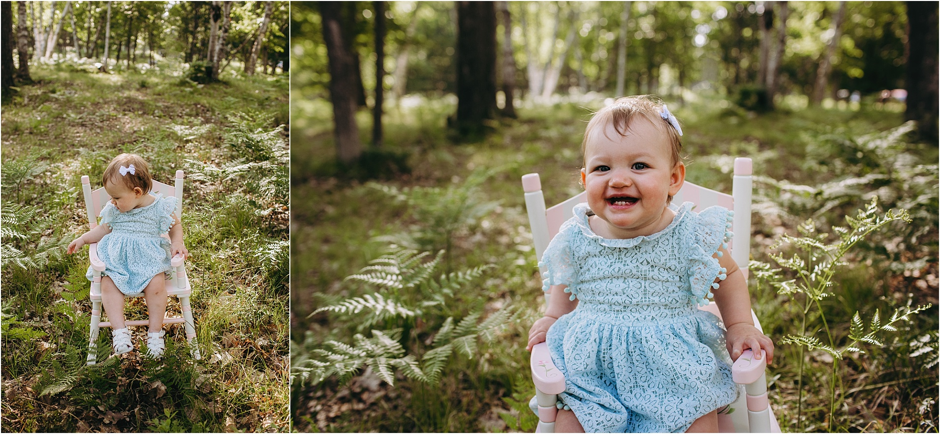 Lyla Turns One   Escanaba Michigan Woodsy Outdoor Family ...
