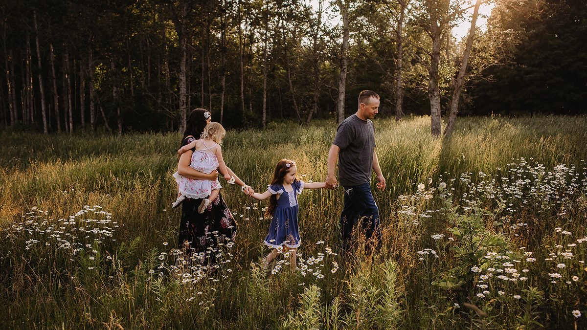 Crossley Family   Escanaba Michigan Outdoor Family Session ...