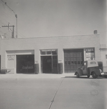 Montgomery Ward Auto Shop - 1950s
