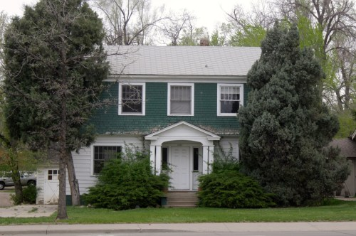 1421 S. College was built in 1928 by Fred Larimer, auto sales manager.