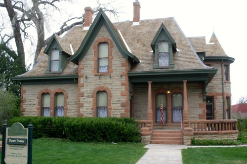 The Franklin and Sarah Avery House was built in stages, starting in 1879. It is currently a house museum.