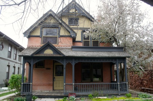 The Montezuma Fuller house, at 226 W. Magnolia, is located right next to the Fuller Flats. Montezuma Fuller was an early architect in Fort Collins designing houses, churches, school buildings and businesses in Fort Collins, Greeley, Denver and other Colorado locations.